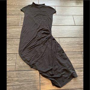 Helmut Helmut Lang Body Con Wool Blend Dress
